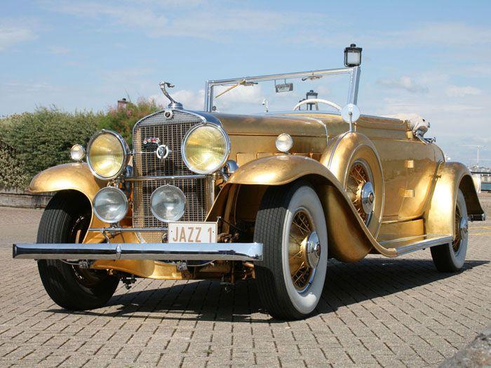 авто, cadillac, найдено на ebay, золотой авто, золотой автомобиль,
