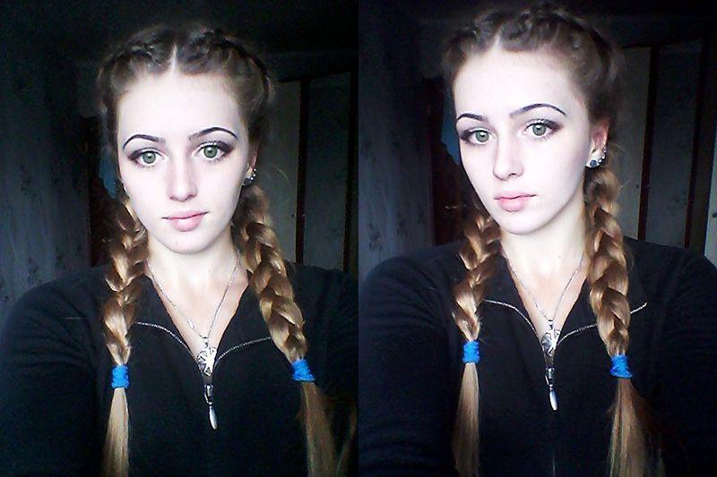 Красивая и сильная русская девушка 27