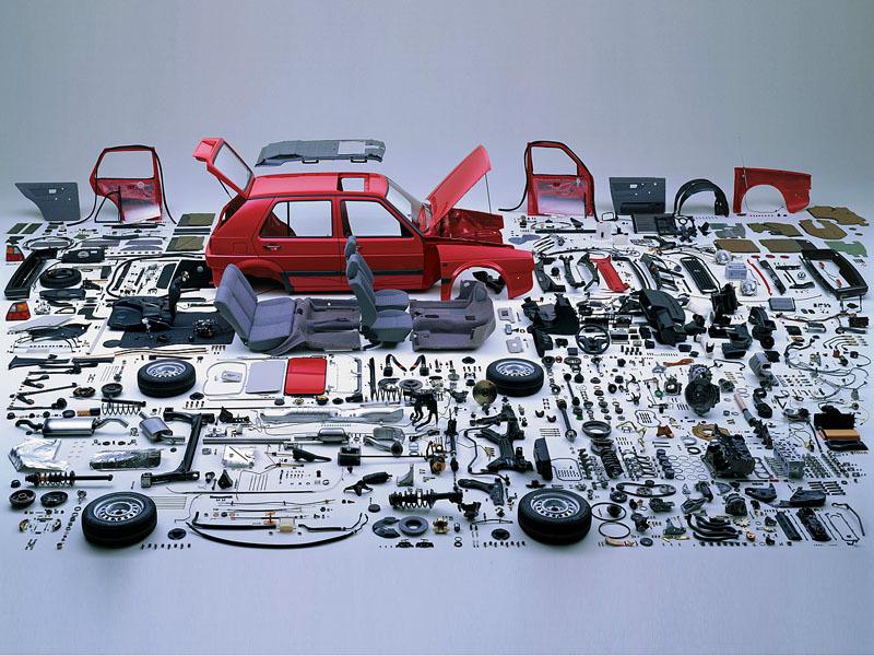 Inside VW Golf 2