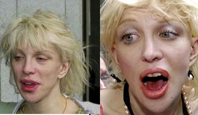 The Many Beautiful Faces of Courtney Love