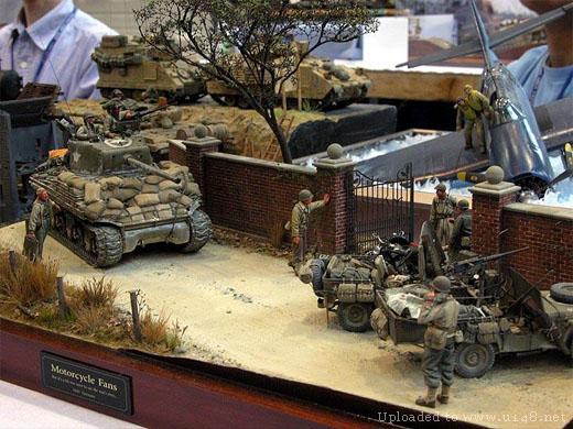 la segunda guerra mundial en maquetas!!!