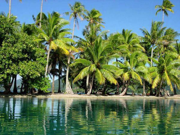 Фантастические острова... Вот бы сейчас оказаться на одном из них...