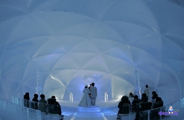 Необычные свадьбы (105 фото)