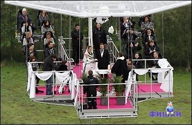Свадьба на канате