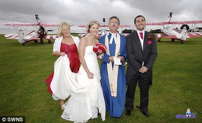 Свадьба в небе