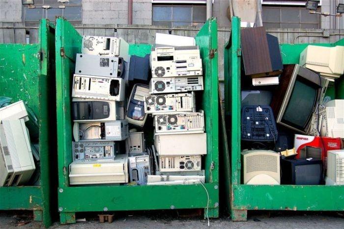 свалка компьютеров фото рассказали ведомстве, неудобств