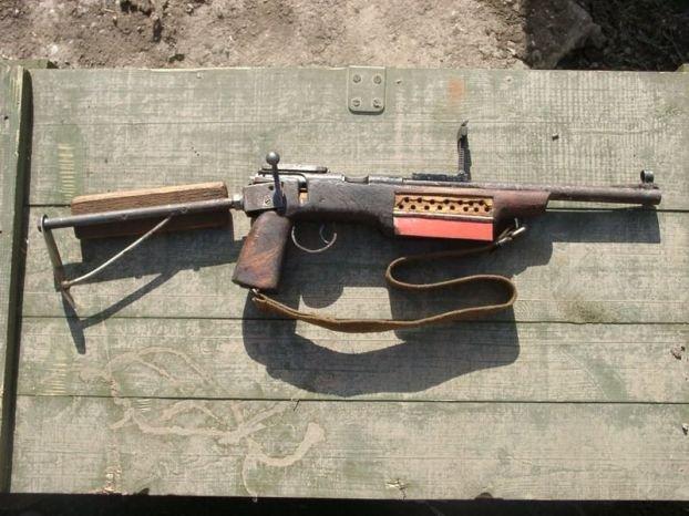 Самодельное оружие Чеченских