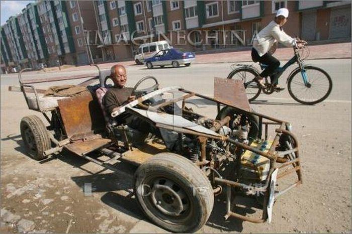 Фото самые смешные авто кулибины