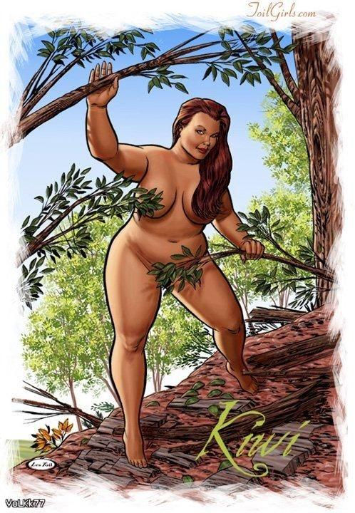 Художник-иллюстратор Les Toil. Любая женщина может быть сексуальной и