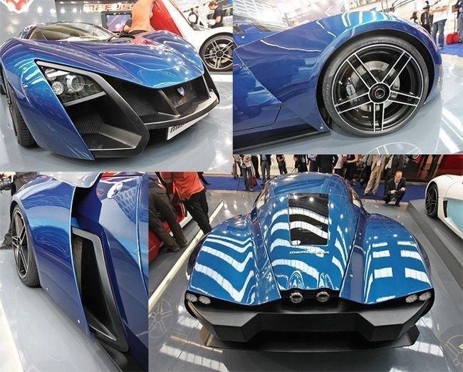 Русский суперкар Marussia (5 фото)