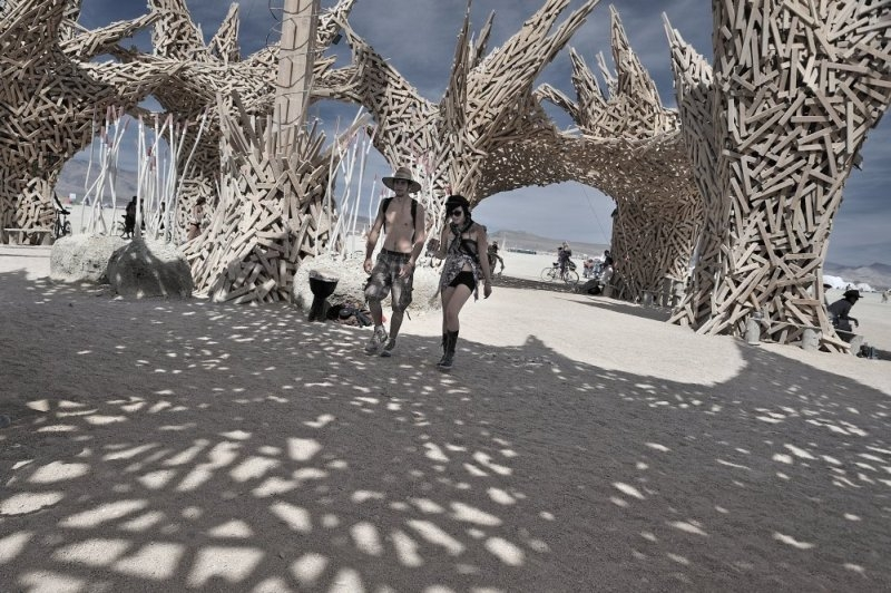 фото с фестиваля BurningMan  (20 фото)