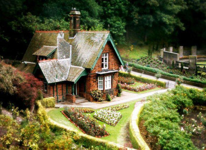 дом хиппи фото