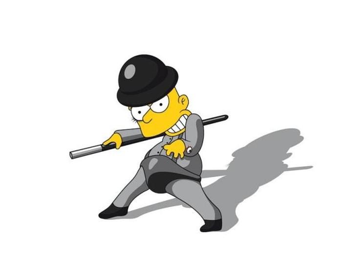 Барт Симпсон в фан-арте (29 фото)
