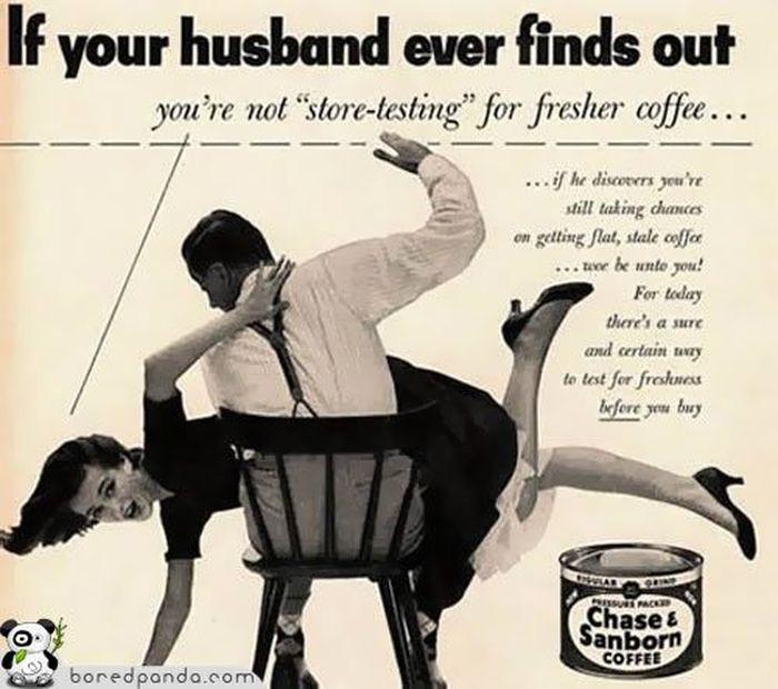 25 старых реклам, которые бы сегодня запретили (29 фото)