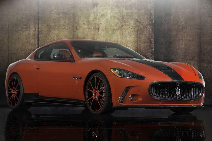 Mansory показали свою версию версия Maserati GranTurismo (22 фото)