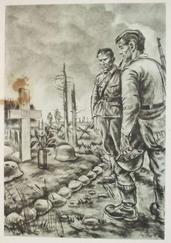 Днем рождения, 2 мировая война картинки карандашом