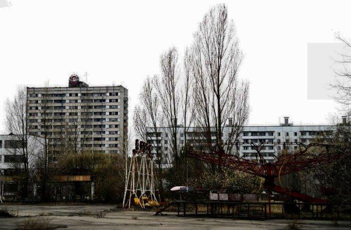 Парк чернобыльских развлечений (15 фото)