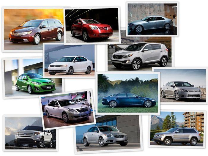 Топ-12 лучших автомобилей 2011 года в Америке (13 фото)