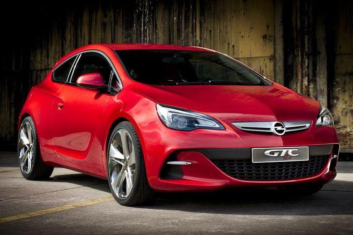 Opel GTC Paris - интерьер хот-хетча рассекречен (61 фото+видео)