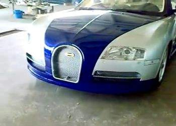Казахские тюнеры сделали Bugatti Veyron из BMW