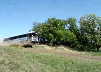 Прыжок на автобусе