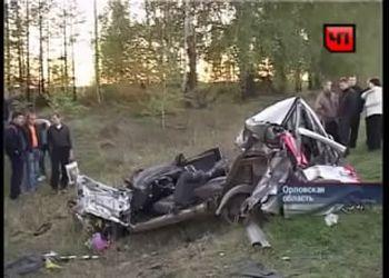 Жесточайшая авария свадебного кортежа