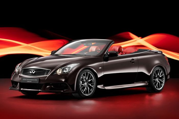 Новинка Infiniti Performance Line G Cabrio (14 фото)