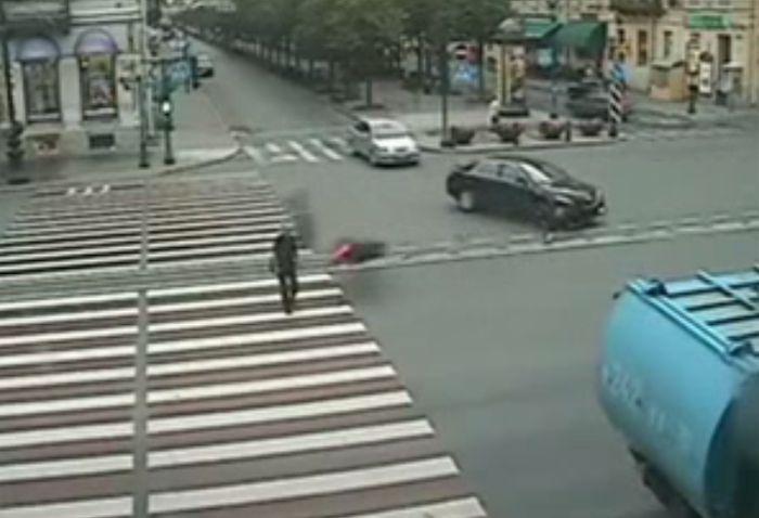 Авария дня часть 33 (фото+видео)