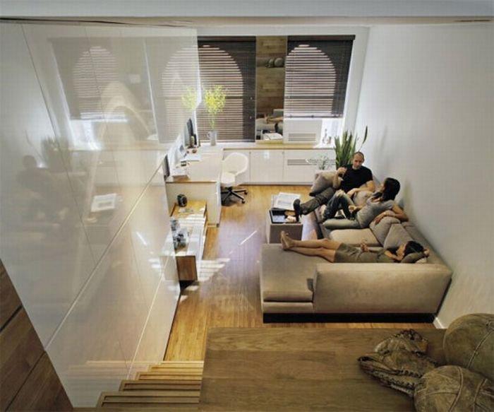 Увеличение площади маленькой квартирки (13 фото)