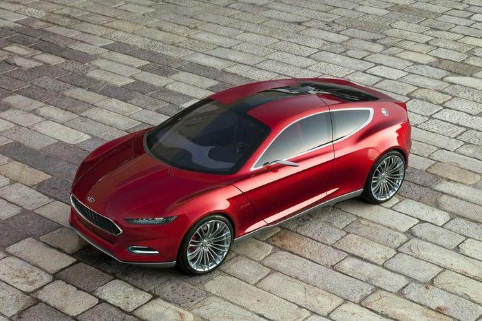 Ford Evos Concept - новинка от Ford (74 фото+видео)