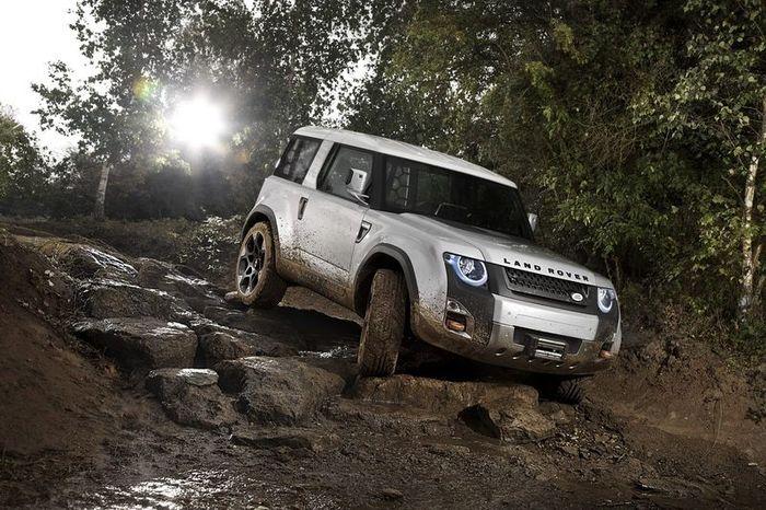 Land Rover покажет новый концепт DC100 (6 фото)
