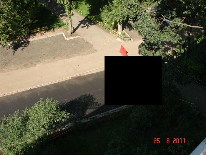 Война за место на парковке (3 фото)