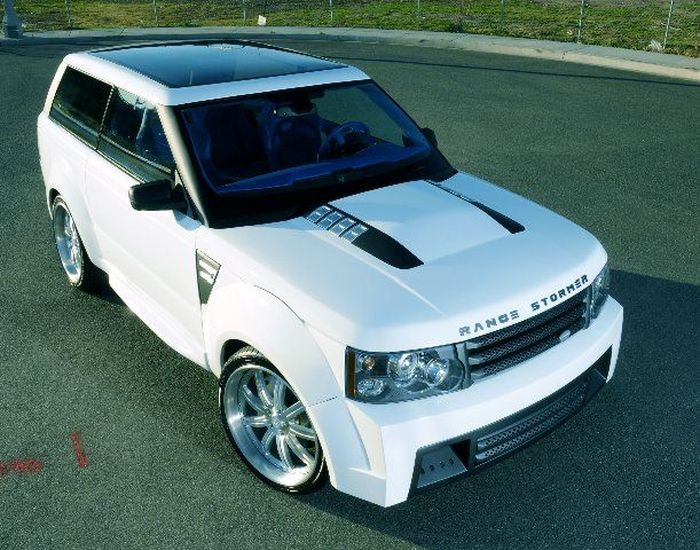 Range Rover Stormer от ателье West Coast Customs (4 фото+видео)