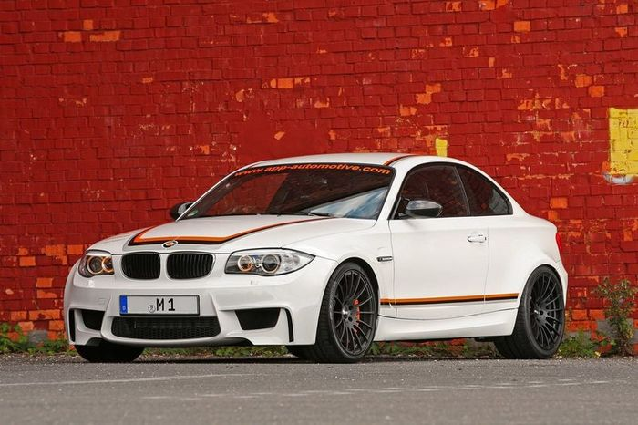BMW 1 M Coupe от APP Europe (17 фото)