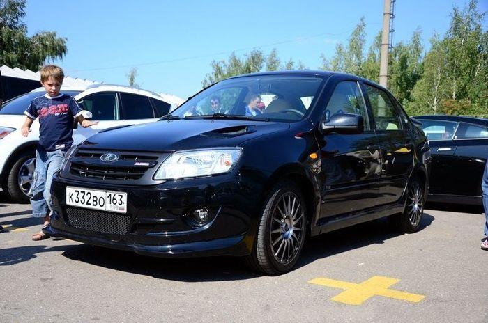 Lada Granta Sport засветилась на автодроме в Мячково (3 фото)