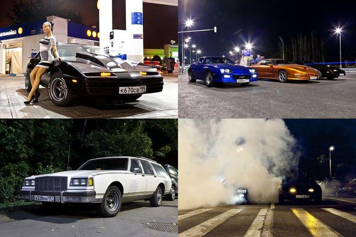 Встреча любителей Американских Автомобилей (25 фото)