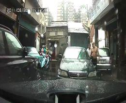 Дорожные разборки в Китае