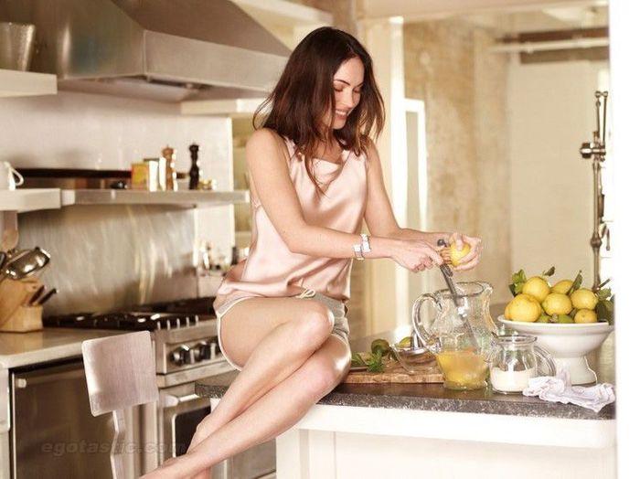 Megan Fox в китайском Elle (5 фото)