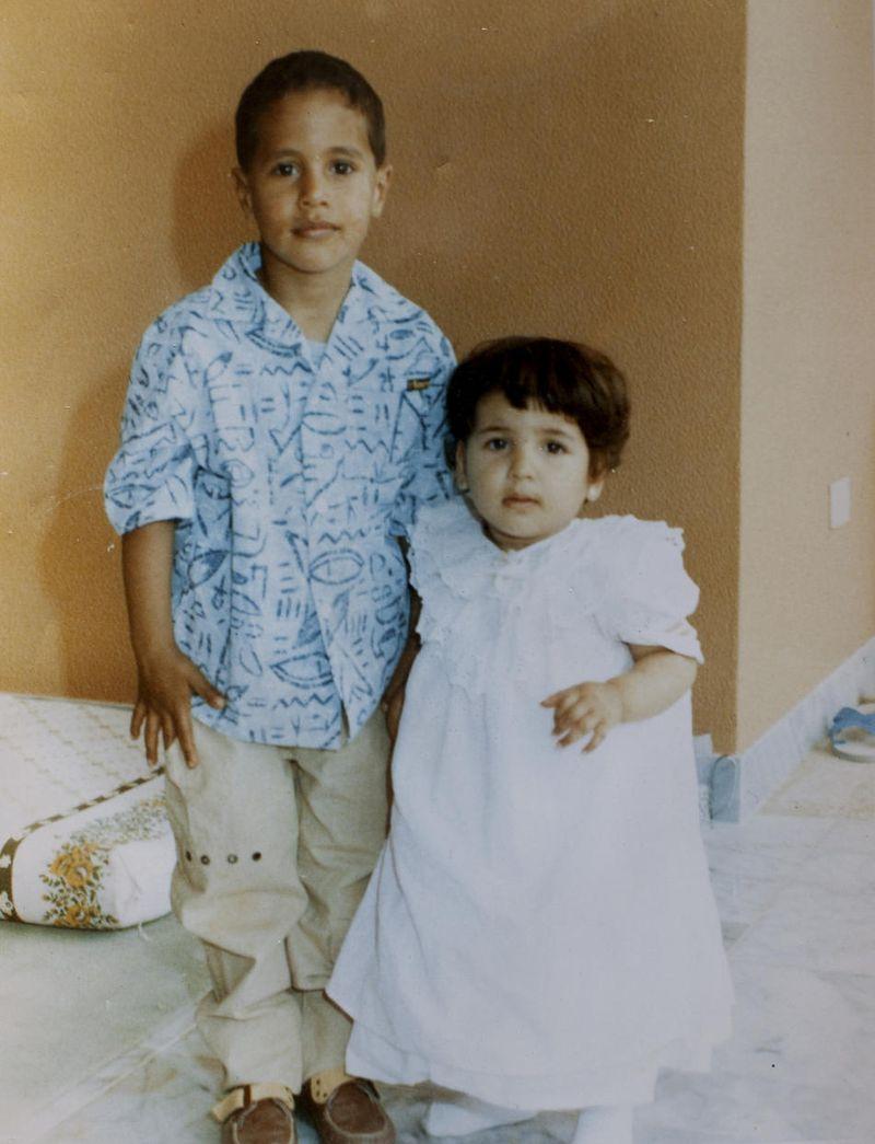 Фотографии из семейного альбома полковника Каддафи (17 фото)