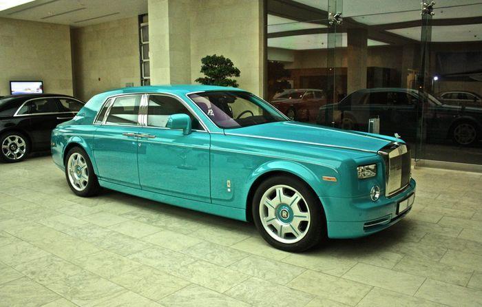 Эксклюзивный Rolls-Royce Phantom от королевской семьи Катара Al Thani (3 фото)