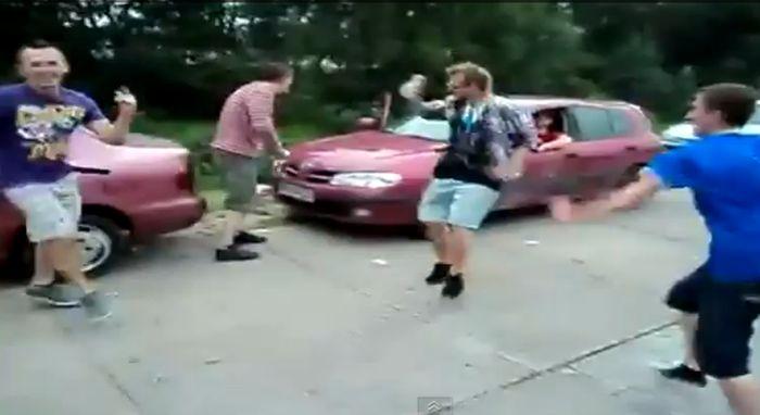 Видео подборка везений за август 2011 (видео)