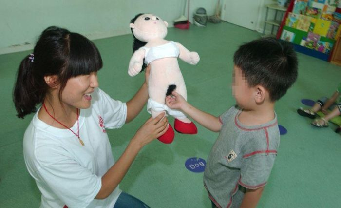 Beijing's first sex education textbook for elementary school students