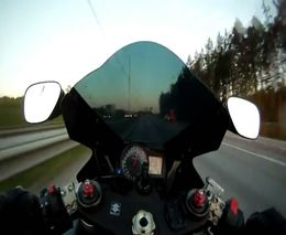 300 км/ч по шведской трассе