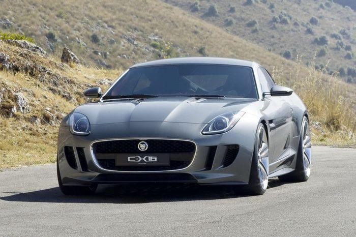 В компании Jaguar представили новый концепт C-X16 (52 фото+видео)