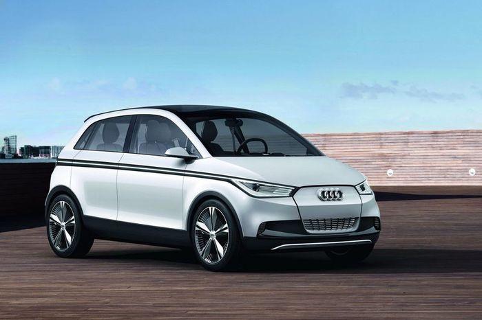 Audi A2 Concept - новый электромобиль (25 фото)