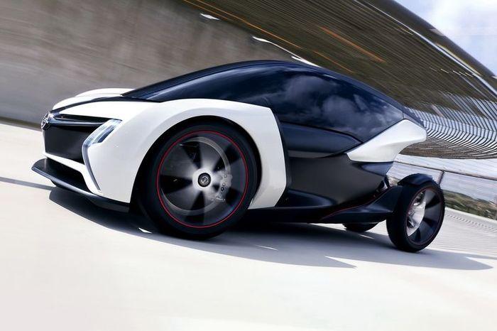 Новый концепт электрокара от Opel (7 фото)