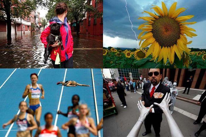 Лучшие фото REUTERS за август в двух частях (75 фото + текст)