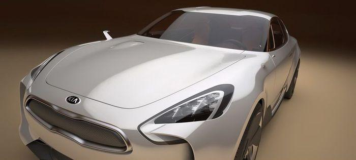 Компания KIA представила новый концепт KIA GT (14 фото)