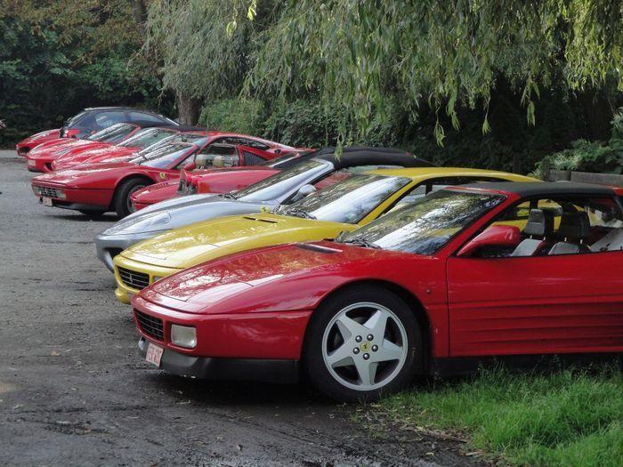 Встреча владельцев Ferrari в бельгийском Ватерлоо (55 фото+видео)