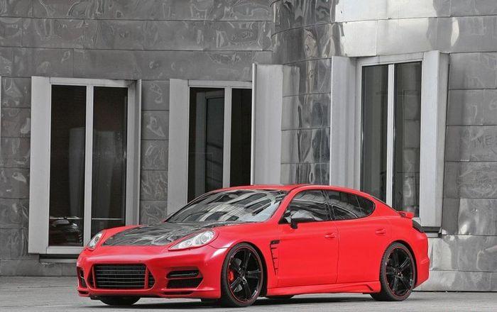 Porsche Panamera Turbo от ателье Anderson Germany (22 фото)